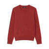 The Essential $75 Cashmere Sweater Mens Red Sangria