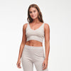 Cashmere Cropped Tank Top