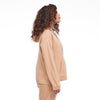 Cashmere Hoodie Camel