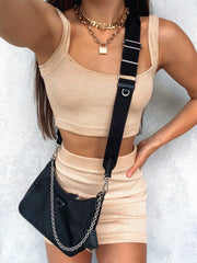 DOWN TO EARTH TWO PIECE SET NUDE
