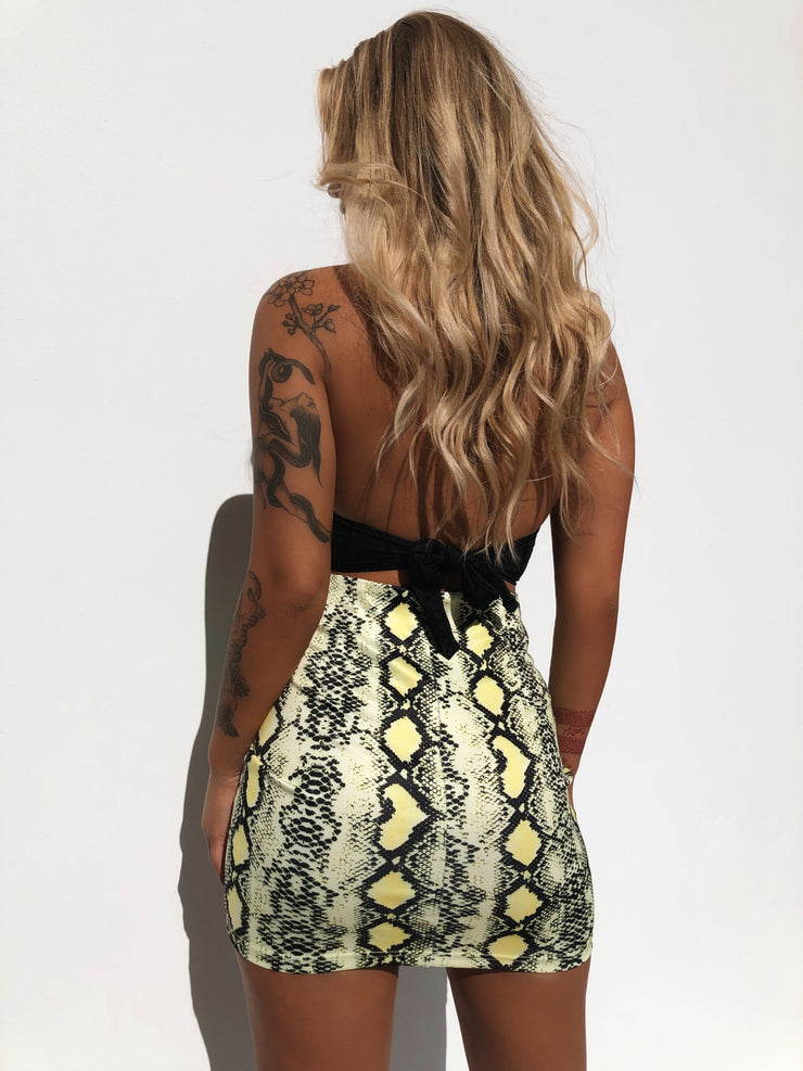 INKA SKIRT LIME - Generation Outcast Clothing