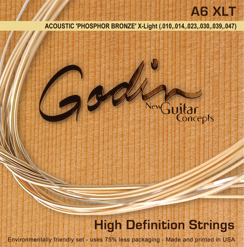 Godin Phosphor Bronze Acoustic Guitar Strings