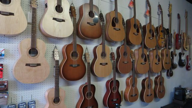 Please stop in to try some of our wonderful Canadian made guitars.