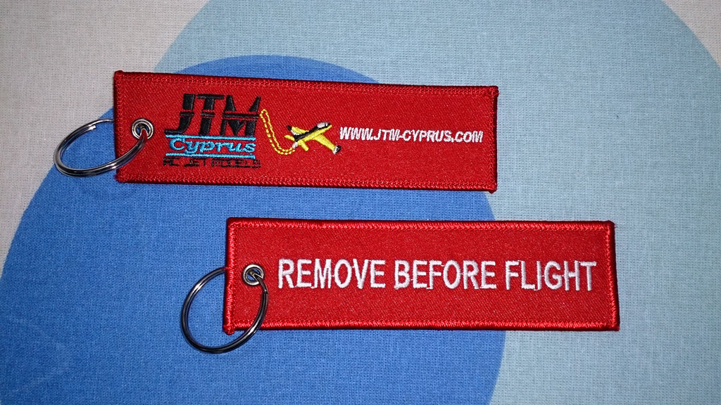 Remove Before Flight Tag (free Shipping)