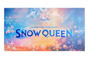Amor Us - Snow Queen eyeshadow Palette+Amor Us Duo Eyeshadow Blending Brush