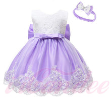 Load image into Gallery viewer, Kids Girls Lace Special Occasion Princess Dress • Flower girl Dress - iiCandee