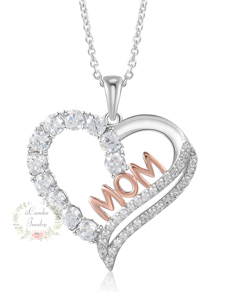 Necklaces for Mum, 925 Sterling Silver