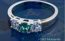 Load image into Gallery viewer, Shop Moissanite Engagement Rings for sale Free Shipping, wedding sets, women's wedding bands, princess cut sterling silver bridal set, sterling silver princess cut engagement rings, sterling silver cubic zirconia wedding sets, 925 sterling silver wedding ring sets, Affordable Engagement Rings - Affordable Wedding Bands, cheap engagement rings that look expensive, Bridal sets at affordable prices and Free Shipping | iicandee