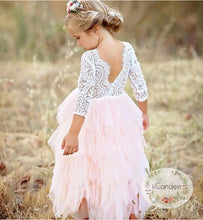 Load image into Gallery viewer, Summer Lace Tulle tutu Dress