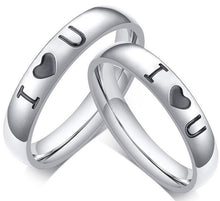 Load image into Gallery viewer, Buy Stainless Steel Wedding Bands Rings | iicandee
