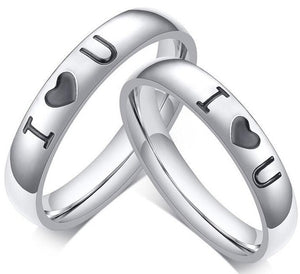 Buy Stainless Steel Wedding Bands Rings | iicandee