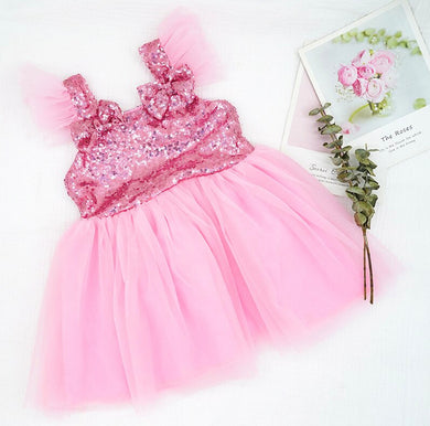 Buy Baby Girl Summer Sequins Tutu Dress Sale iicandee