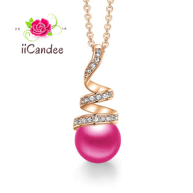 My Love Pearl necklace - Pink