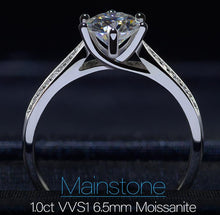 Load image into Gallery viewer, moissanite engagement rings clearance-iicandee