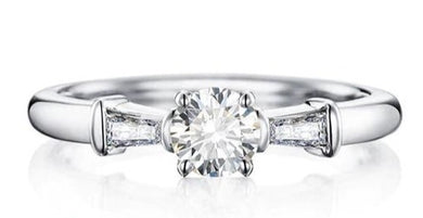 buy Sterling Silver Solitaire Engagement Ring  • Promise ring on sale at iicandee