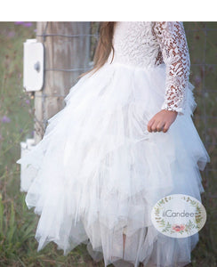 Summer Lace Tulle tutu Dress
