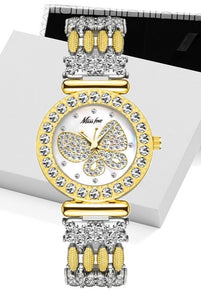 Shop for Butterfly Watch with Diamond sparkle on Sale at iiCandee