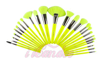 Load image into Gallery viewer, Neon 24 PC Makeup Brush Set • Makeup Brushes - iiCandee