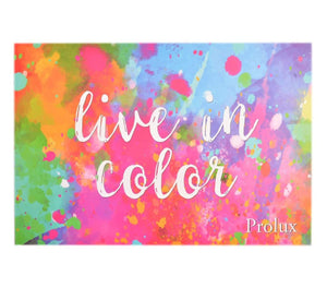 Prolux Live In Color Eyeshadow Palette-iicandee