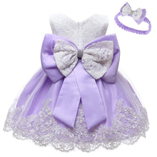 Load image into Gallery viewer, Baby Girls infant Toddler Flower Elegant Princess Dress - iiCandee