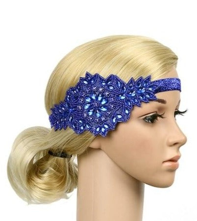 Great Gatsby Rhinestone Flapper Headband
