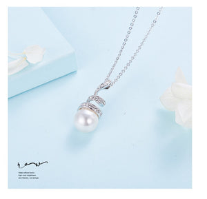 My Love Pearl necklace - White