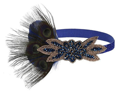 Great Gatsby Beaded Flapper Headband