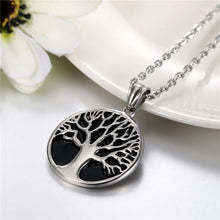 Load image into Gallery viewer, Buy Tree of Life Stainless Steel Men's Necklace on sale at iiCandee.com