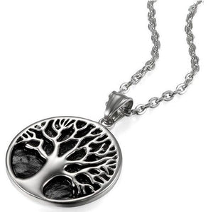 Buy Tree of Life Stainless Steel Men's Necklace on sale at iiCandee.com