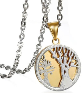 Buy Tree of Life Stainless Steel Necklace on Sale now at iicandee.com