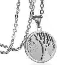 Load image into Gallery viewer, Buy Tree of Life Stainless Steel Necklace on Sale now at iicandee.com