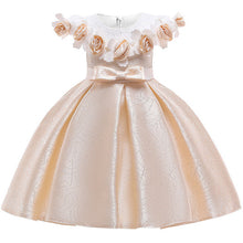 Load image into Gallery viewer, Girls Yellow Special occasion Dress • Wedding Dress • Flower Girl Dress - iiCandee