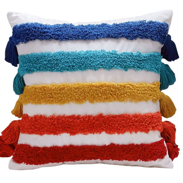Rainbow Decoration Cushion Cover  45x45cm/30x50cm