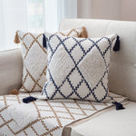 Cotton Woven cushion cover 45x45cm Moroccan Style