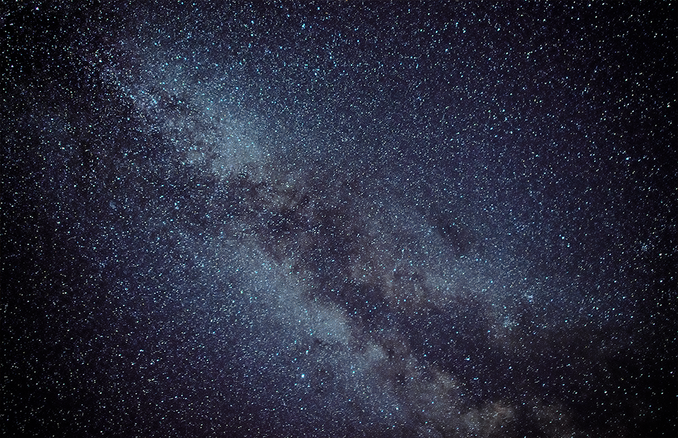Milky Way, from Skyline Drive