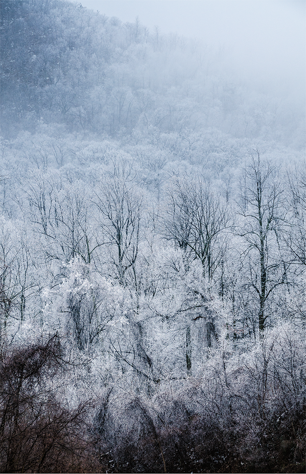 Snow & ice, Shenandoah