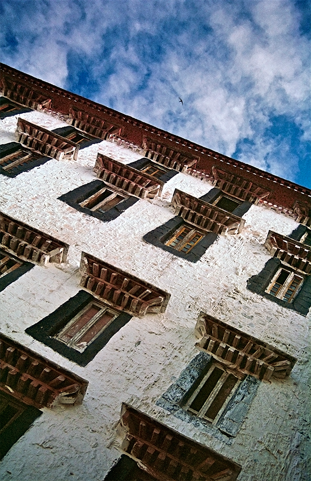 Potala windows, Lhasa