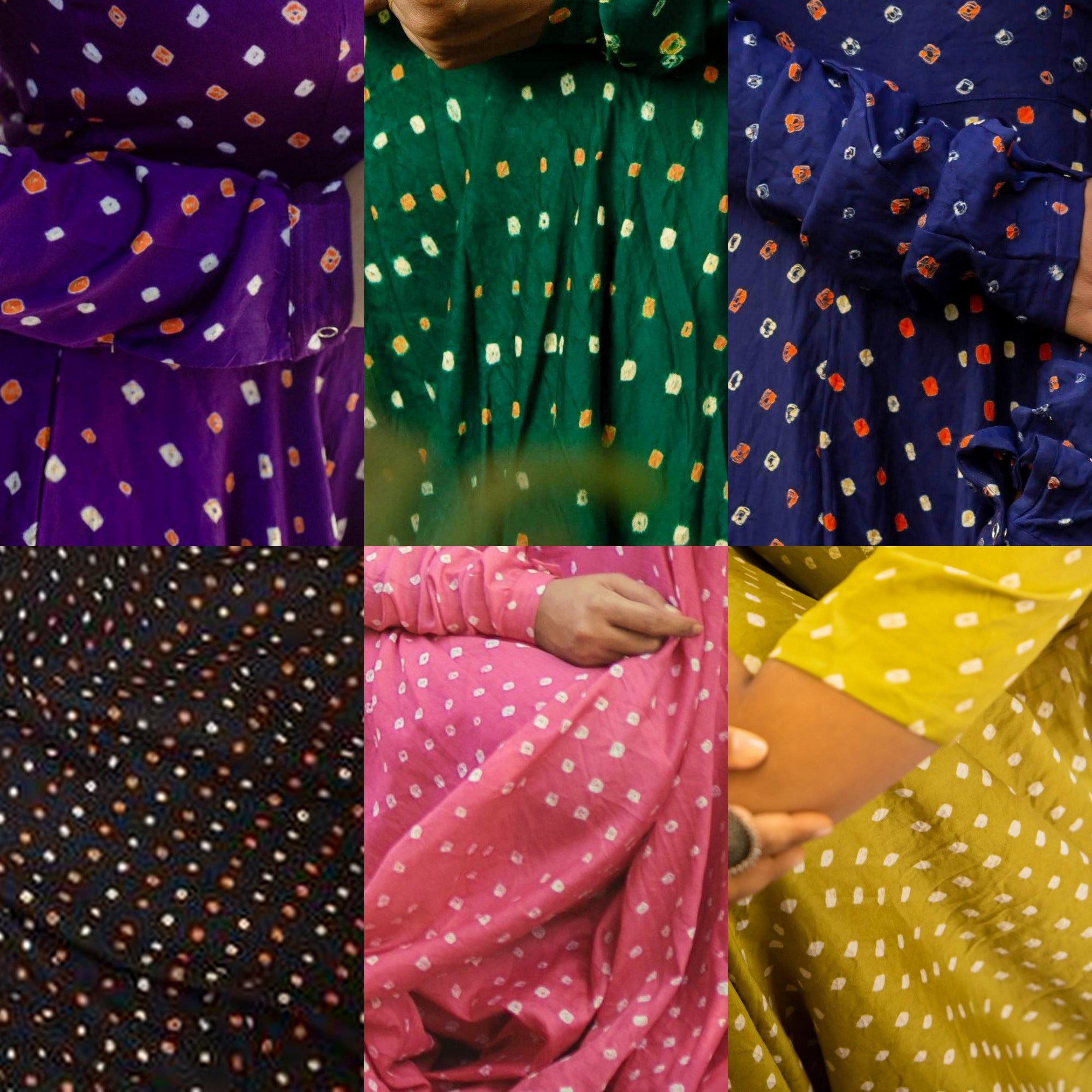 Bandhani - Kurta (Colours available)