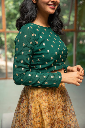 Chandini - Crop top & skirt