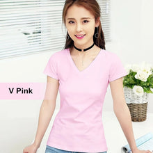 Load image into Gallery viewer, MRMT Brand New Women Pure Color Short Sleeve Top