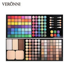 Load image into Gallery viewer, 177pcs/set Makeup set including Lipgloss, blush,contour,concealer,Eyeshadow, Eyebrow Powder makeup kit women Cosmetics Box