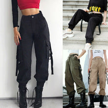 Load image into Gallery viewer, HIRIGIN Women Stretch Cargos Pants