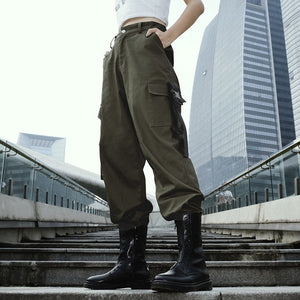 HIRIGIN Women Stretch Cargos Pants