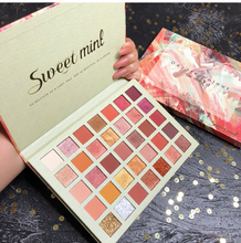 Load image into Gallery viewer, Nude Shimmer Matte EyeShadow Palette 35 Color Glitter Metallic Pressed Pigmented Eyeshadow Pallete Makeup Palette Cosmetic