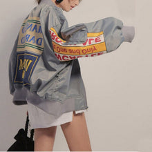 Load image into Gallery viewer, OLGITUM Graphic Baseball Bomber Jacket