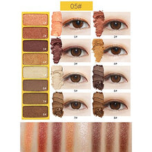 Load image into Gallery viewer, NOVO Eye Color Mini Studio 8 Colors Eyeshadow Palette
