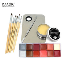 Load image into Gallery viewer, IMAGIC Professional  Cosmetics 1 X12 Colors Body Painting And Skin Wax And Make Up Remover Set