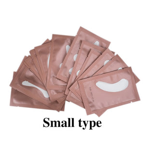 500/600pairs Eyelash Under Eye Pads Eyelash Extensions Paper Patches Grafted Eye Stickers Eye Tips Sticker Wraps Make Up Tools