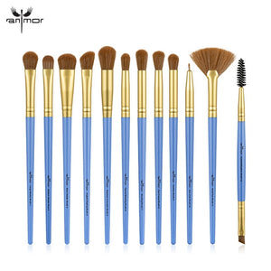 ANMOR Makeup Brushes Set 3-12pcs/lot