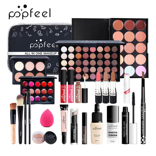 POPFEEL 15/20/24PCS All In One Make Up Kit